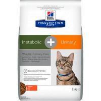 Hill's Prescription Diet Feline Metabolic+Urinary 1,5 кг
