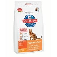 Hill's Science Plan Feline Adult Optimal Care with Chicken 15 кг
