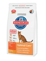 Hill's Science Plan Feline Adult Optimal Care with Chicken 5 ��