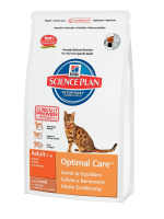 Hill's Science Plan Feline Adult Optimal Care with Lamb 5 ��