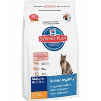 Hill's Science Plan Feline Mature Adult 7+ Active Longevity Chicken 10 кг