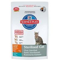 Hill's Science Plan Feline Young Adult Sterilised Cat Tuna 8 кг