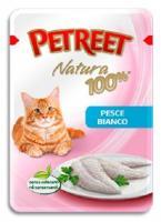 Petreet Natura Пауч Белая рыба 85 г