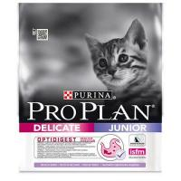 Purina Pro Plan Junior Delicate с индейкой 0,4 кг
