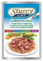 Stuzzy Cat консервы для кошек с телятиной 100 гр