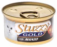 Stuzzy Gold консервы для кошек мусс из говядины 85 гр
