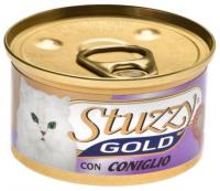 Stuzzy Gold консервы для кошек мусс из кролика 85 гр