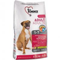 1st CHOICE Adult All Breeds - Sensitive skin & coat 15 кг