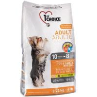 1st CHOICE Adult Toy & Small Breeds Chicken 7 кг