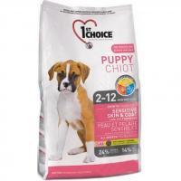 1st CHOICE Puppies All Breeds - Sensitive skin & coat 14 кг