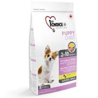 1st CHOICE Puppies Toy & Small Breeds Fish 2,72 кг