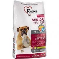 1st CHOICE Seniors All Breeds - Sensitive skin & coat 2,72 ��