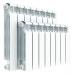 Цены на Алюминиевый секционный радиатор Rifar Alum 500 8 секций Тип: Алюминиевый радиатор.Особенности: Главное отличие от известных алюминиевых радиаторов заключается в конструкции вертикального канала секции. Технологическое отверстие в нижней части каждой секци