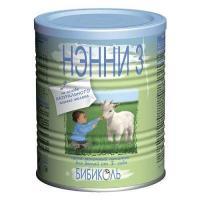 Бибиколь Молочная смесь Нэнни 3 с пребиотиками, с 12 мес. 400 г