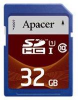 Apacer SDHC Class 10 UHS-I 32Gb (AP32GSDHC10U1-R)