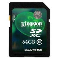 Kingston SDX10V/64GB