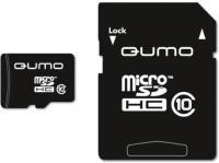 Qumo microSDHC Class 10 + SD adapter 32Gb