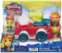 Фото Hasbro Play-Doh Город: пожарная машина (B3416)