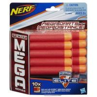 Hasbro Набор дартс серия Мега Нерф, 10 шт. (A4368)